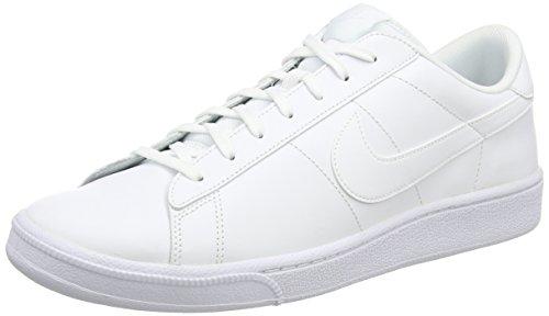 Nike Tennis Classic CS, Zapatillas de Deporte Hombre, Blanco (Blanco (White/White), 44.5