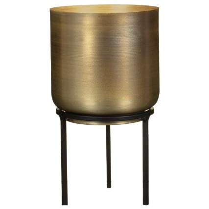 A2Z Home Solutions Amazing Gold Plant Pot with Metal Legs Planter For Plants Flowers Contemporary look to Living rooms, Kitchens and Dining Rooms