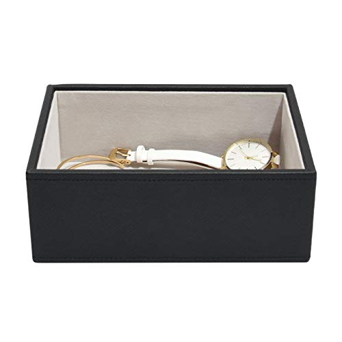 Stackers Black Mini Jewellery Box Chunky Jewellery Layer