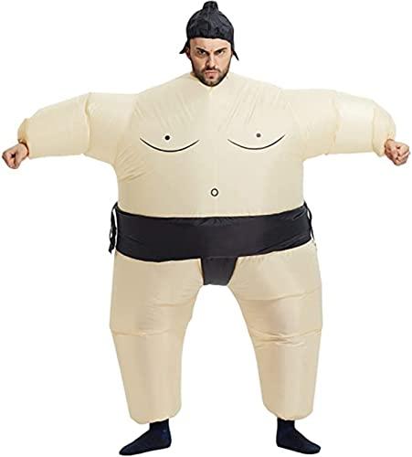 Disfraz inflable para adultos, Disfraces inflables de Halloween para hombres, Disfraz de sumo para adultos, Luchador de sumo inflable, Disfraces inflables para adultos A