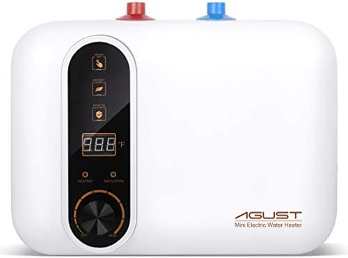 Electric Hot Water Heater 110 120V Compact Mini Tank Storage Small Output 2 5 3 0 Gallon 1 5KW product image