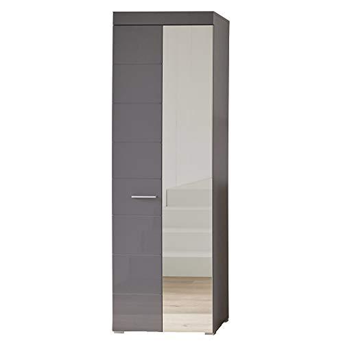 trendteam smart living Garderobenschrank Schrank, Holz, 62 x 195 x 38 cm