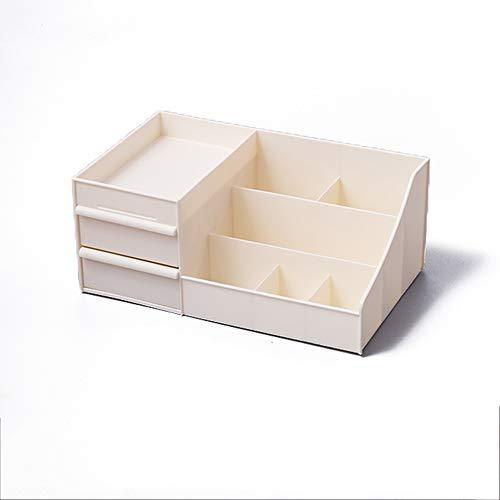 Kcakek Eenvoudige cosmetische opbergdoos cosmetica lippenstift sorteren box Desktop cosmetische opslag planken in de badkamer en slaapkamer desktop storage homepage high-capacity (Size : M)