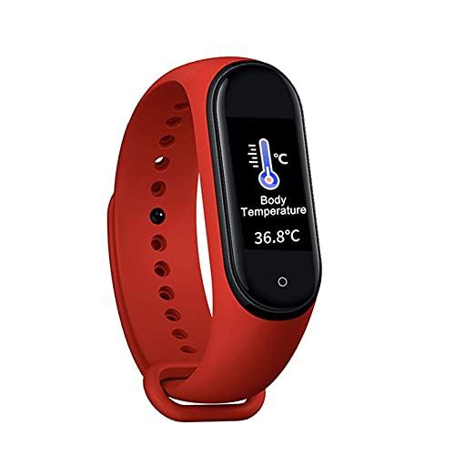 MT10 Smart Fitness pulsera banda con medición de presión medidor de pulso deporte actividad Tracker hombres mujeres reloj pulsera