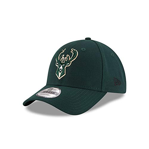 New Era 9Forty NBA The League Team Cap (one Size, Milwaukee Bucks)