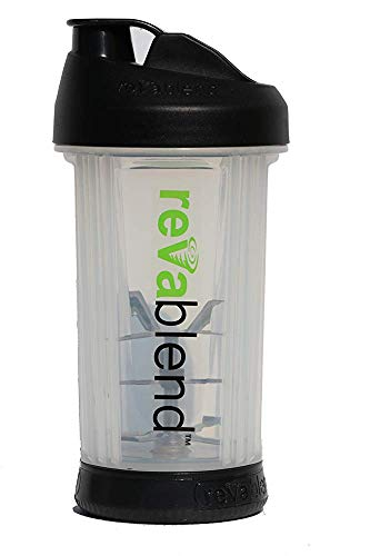 9. Revablend Portable Blender, 16 Ounce, Black
