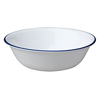 Corelle Livingware True Blue 18 Ounce Soup/Cereal Bowl (Set of 12)