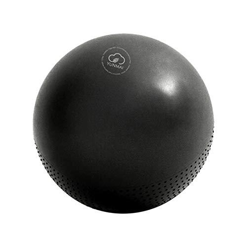 JINMENHUO Palla Fitness Pilates Attrezzature Pelota Pilates Yoga Equilibrio bola Pilates Palla Esercizio Palla Ginnastica Ritmica Palla, Nero