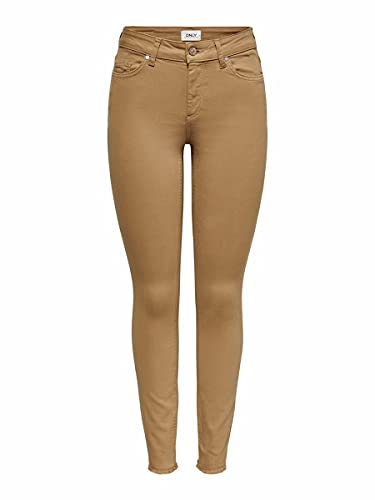 ONLY Female Skinny Fit Jeans ONLBlush mid sk Ankle S30Toasted Coconut