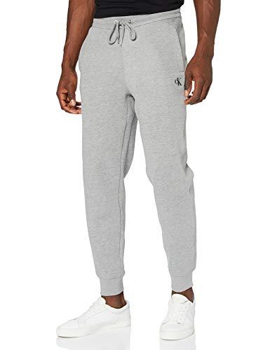 Calvin Klein Jeans Herren Ck Essential HWK Pant Hose, Mid Grey Heather, XL