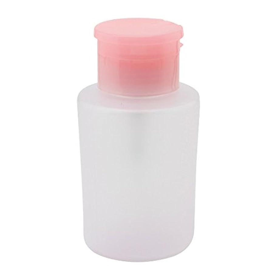 投資するストリップ種をまくプッシュ式 ポンプディスペンサー 200ml ピンク [ ディスペンサー 空ボトル 空容器 ボトル 容器 ポンプ リムーバー ネイルケア ]