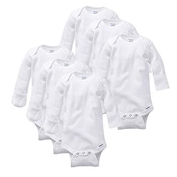 white long sleeve onsies