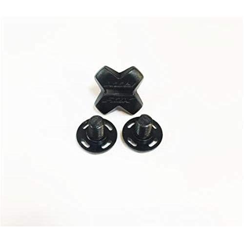 Fox Helmschild-Ersatzschraube V4/V3/Rampage Pro Carbon Schwarz