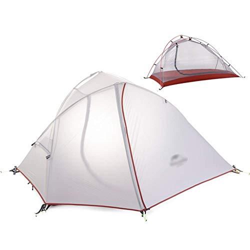 Tiendas de campaña tiendas de campaña for acampar Coleman tienda de campaña Tres temporadas poste de aluminio acampar al aire libre tienda doble de excursión la tienda doble resistente a la intemperie