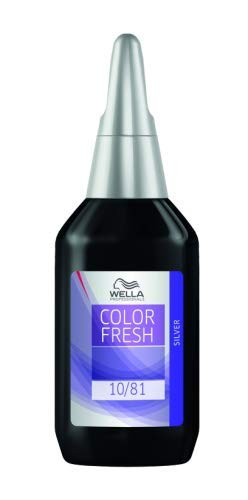 Wella Color Fresh Silver Liquid 8/81 hellblond perl-asch er Pack(x)