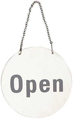 20 Restauration u065 Panneau de porte en acier inoxydable – ouverte et fermée
