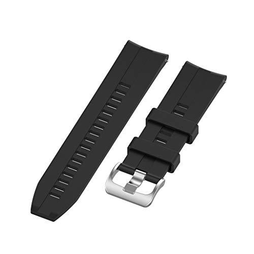 MEIYIN Pulseira de relógio esportiva de silicone de 22 mm para relógio inteligente GTR 47 mm