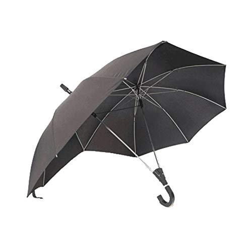 GNNHY Dubbele Paal Paar Paraplu, Semi-automatische Business Dubbele Top Siamese Paraplu, Stijlvolle Persoonlijkheid Schaduw Zonnige Regen Paraplu