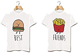 SV Funky BFF TEES:Burger and Fries
