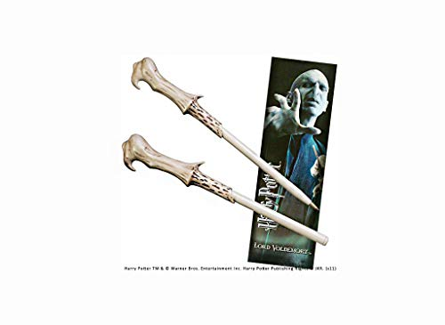 Noble Collection - Penna Bacchetta di Voldemort e Segnalibro - Harry Potter NN8638