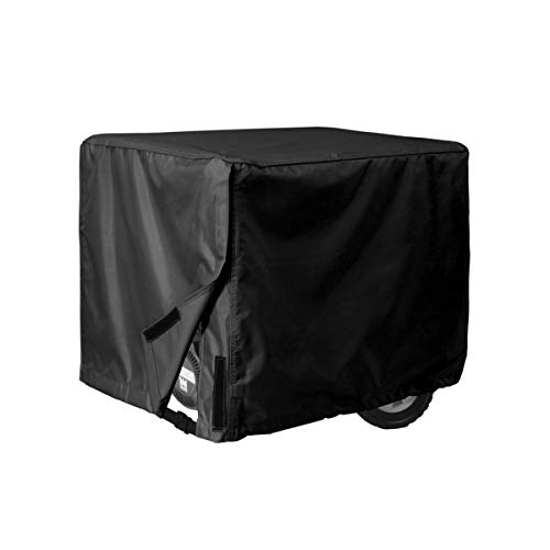 Porch Shield Waterproof Universal Generator Cover, 600D Heavy Duty Polyester Weather/UV Resistant Generator Cover, Black,32 * 24 * 24in