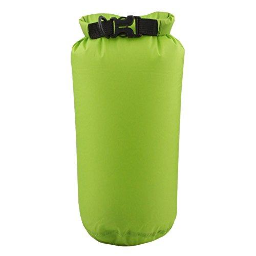 Wildlead 8l, wasserdicht, Kompressions-Sack, Kajak, Rafting, Camping, grün