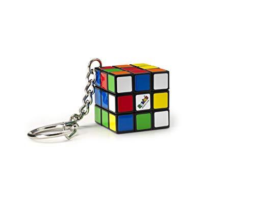 Jumbo 00728 - Rubik's Cube Schlüsselanhänger, Zauberwürfel