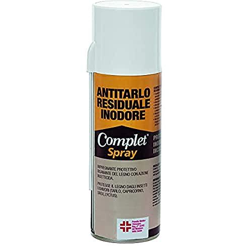 Complet ANTCOMSPRA Antitarlo Fungicida Protettivo Inodore Incolore, 1 Unità (Confezione da 1)