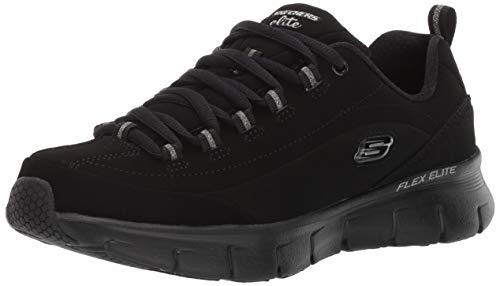 Skechers Damen Synergy 3.0 Sneaker, Schwarz, 38 EU