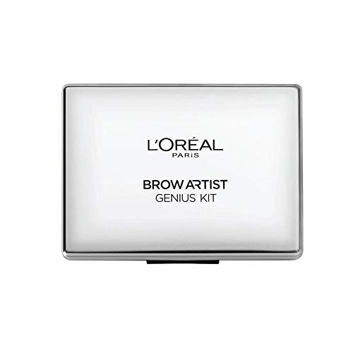 L'Oréal Paris Brow Artist Genius Kit Sopracciglia, Medium To Dark