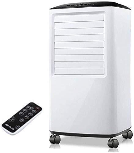Qinmo Verdampfungskühlvorrichtungen Fernbedienung Klimaanlage, 65W tragbare Klimaanlagen-Ventilator Einfamilienhaus Kleine kalte Klimaanlage A-Klasse Energieniveau