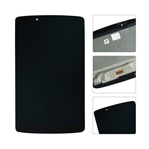 Kit de repuesto de pantalla de 20,3 cm, compatible con LG G Pad II 8.0 LG V498, pantalla LCD de pantalla táctil, kit de reparación de repuesto (color: negro)