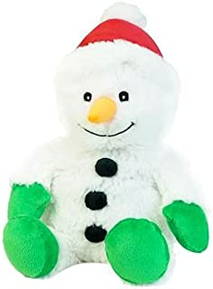 Intelex Warmies Snowman Cozy Plush Heatable Lavender Scented Stuffed Animal