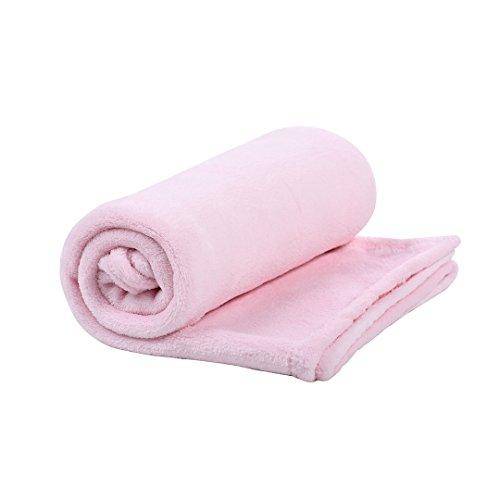 Cobertor de Microfibra Mami, Papi Textil, Rosa