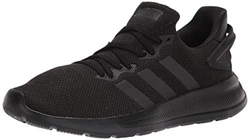 adidas Men's Lite Racer BYD 2.0 Trail Running Shoe, Black/Black/Black, 8