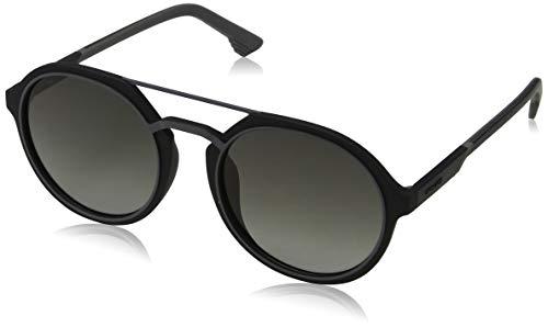 Police Lisbon 1 Gafas de sol, Negro (Rubberized Black & Grey/Grey), 53.0 para Hombre