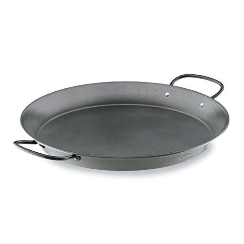 Lacor - 60127 - Paellera de Acero al Carbono, Antiadherente, Apta para cocina de Gas, Vitrocerámica, Electríca,...