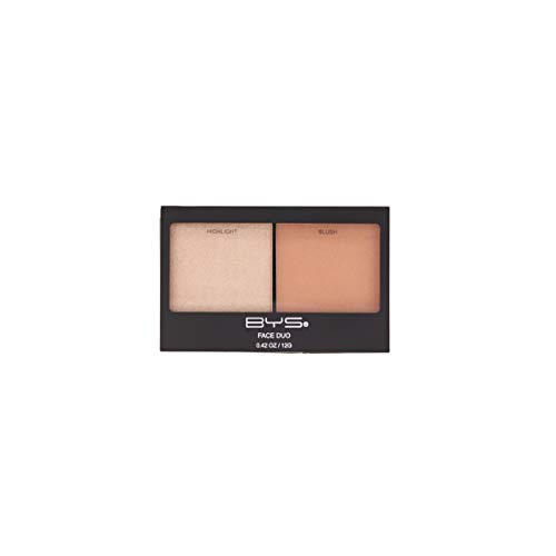 BYS Face Duo - Highlight and Blush Palette