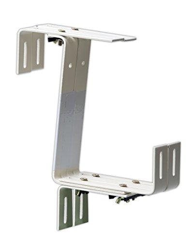 Windhager 05808 Blumenkasten-Halter 3-fach Stabil, weiß