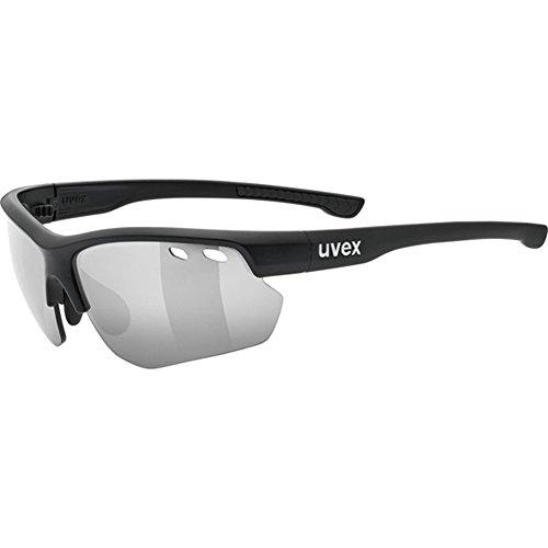 uvex Unisex– Erwachsene, sportstyle 115 Sportbrille, black mat, one size