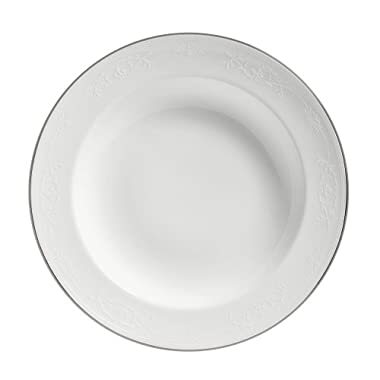 Wedgwood English Lace 9-Inch Rim Soup Plate