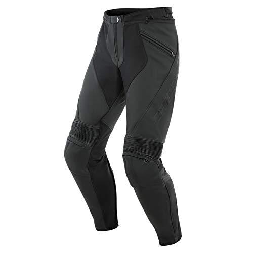 Dainese Motorradhose Pony 3 Lederhose perforiert schwarz 52 (L), Herren, Sportler, Ganzjährig