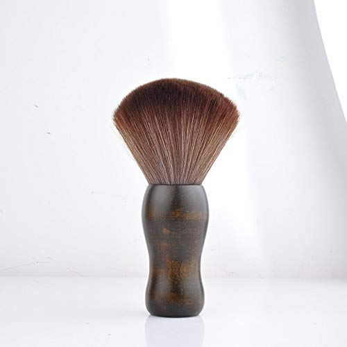 Generic 1Pc Professional Soft Black Neck Face Duster Brushes fibres bristle Stylist Barber Hairbrush Salon Hair Cut Styling Make Tools