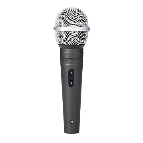 Professional Dynamic Microphone Suitable for Karaoke Handheld Wired Microphone with Metal Mesh Head Protector Family Entertainment Conference,etc Outdoor Show Super Cardioid Polar Pattern