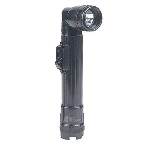 5ive Star Gear Mini Anglehead Flashlight, Black