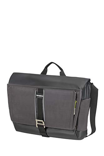 Samsonite 2WM Messenger Bag Medium, 15.6 Inch, 46 cm, 19.5 Litre, Bl