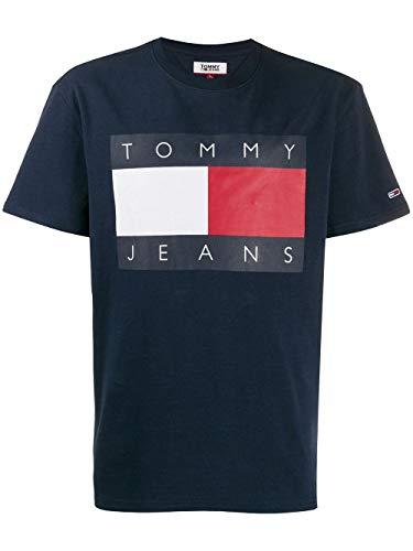 Preisvergleich Produktbild Tommy Hilfiger Luxury Fashion Herren DM0DM07009CBK Blau T-Shirt