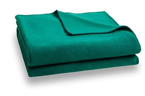 Zoeppritz Soft-Fleece Decke 110x150 Dark Turquoise