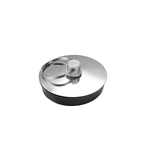 sourcing map Waschbecken Stopfen Ablaufstopfen mit Ring für Badewanne Küche Badezimmer Gummi 33-37 mm, 1 Stück