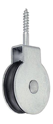 Max-Power DY270530 Carrucola con Vite, Diametro 40 Mm, per Funi 6 Mm, 1 Pezzo